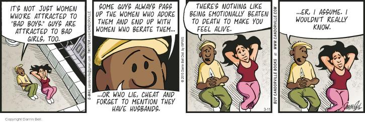 Comic Strip Darrin Bell  Candorville 2015-03-11 bad boy