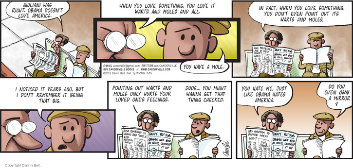 Comic Strip Darrin Bell  Candorville 2015-03-15 love