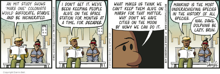 Comic Strip Darrin Bell  Candorville 2015-03-25 station