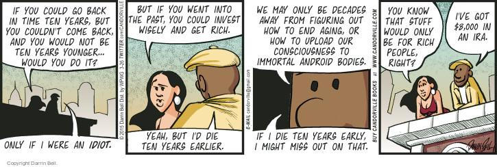 Comic Strip Darrin Bell  Candorville 2015-03-26 wealth