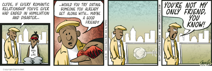Comic Strip Darrin Bell  Candorville 2015-03-28 friendship