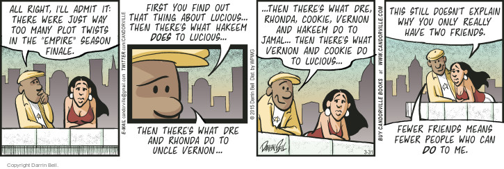 Comic Strip Darrin Bell  Candorville 2015-03-31 friendship