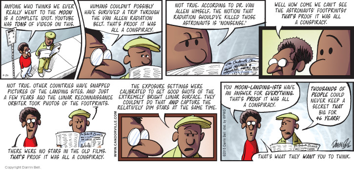 Comic Strip Darrin Bell  Candorville 2015-04-26 fake