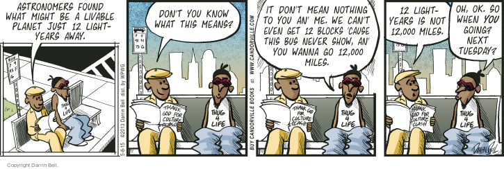 Comic Strip Darrin Bell  Candorville 2015-05-08 bus