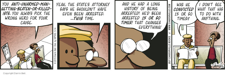 Comic Strip Darrin Bell  Candorville 2015-05-14 denial