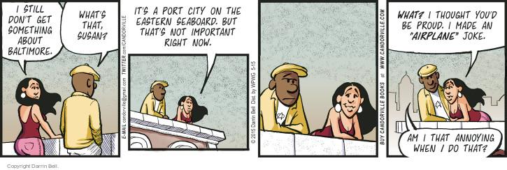 Comic Strip Darrin Bell  Candorville 2015-05-15 something