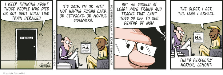 Comic Strip Darrin Bell  Candorville 2015-05-20 safety