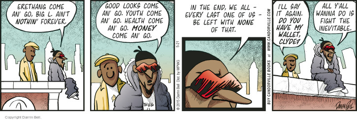 Comic Strip Darrin Bell  Candorville 2015-05-21 distraction
