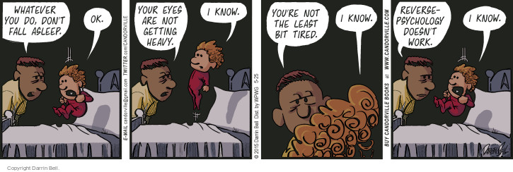 Comic Strip Darrin Bell  Candorville 2015-05-25 sleep