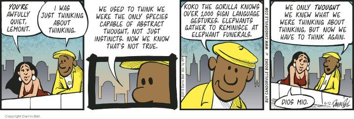Comic Strip Darrin Bell  Candorville 2015-06-12 instinct