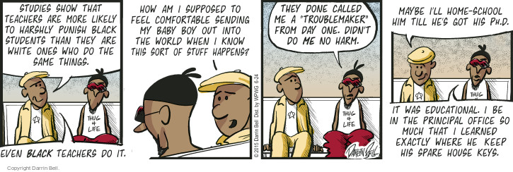 Comic Strip Darrin Bell  Candorville 2015-06-24 spare