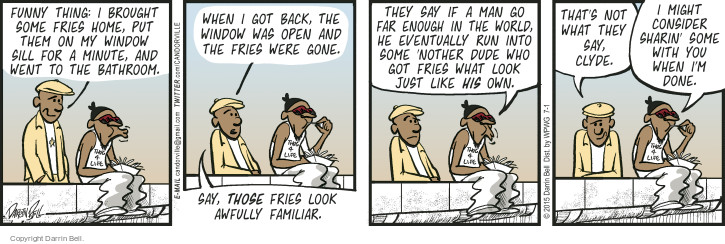 Comic Strip Darrin Bell  Candorville 2015-07-01 funny