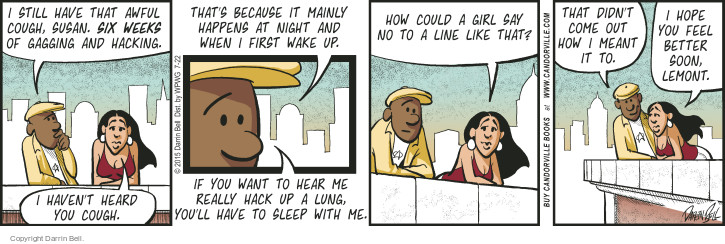 Comic Strip Darrin Bell  Candorville 2015-07-22 line-up