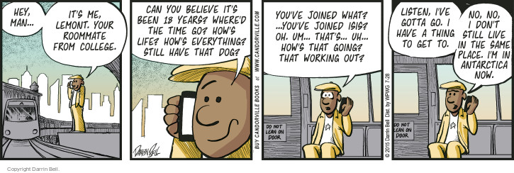 Comic Strip Darrin Bell  Candorville 2015-07-28 join
