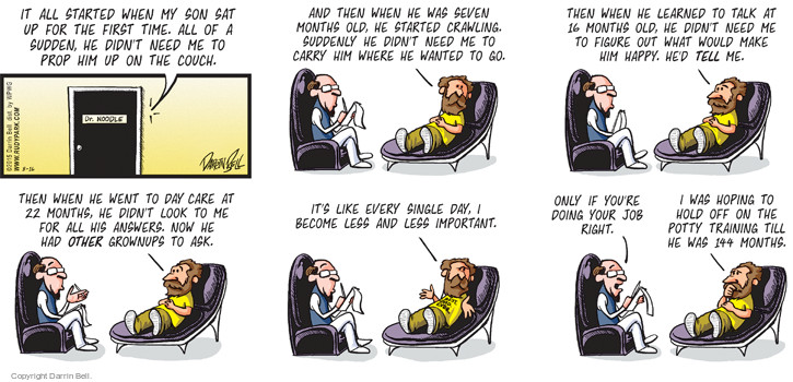 Comic Strip Darrin Bell  Candorville 2015-08-16 toddler