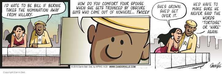Comic Strip Darrin Bell  Candorville 2015-08-20 spouse