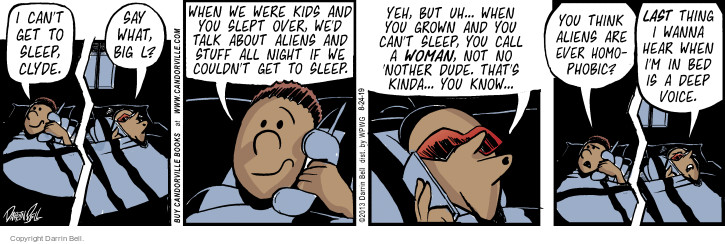 Comic Strip Darrin Bell  Candorville 2015-08-24 call