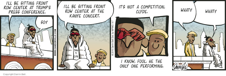 Comic Strip Darrin Bell  Candorville 2015-09-07 conference