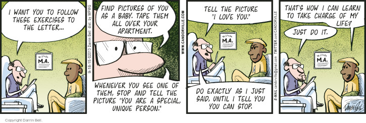 Comic Strip Darrin Bell  Candorville 2015-09-18 love life