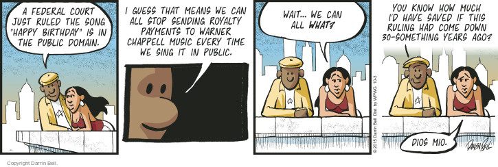 Comic Strip Darrin Bell  Candorville 2015-10-03 much