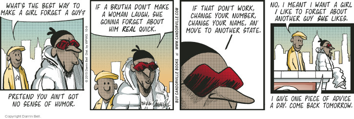 Comic Strip Darrin Bell  Candorville 2015-10-09 meant