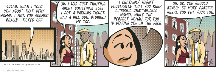 Comic Strip Darrin Bell  Candorville 2015-10-10 anger