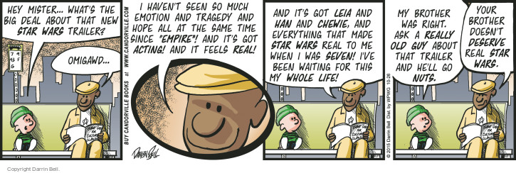 Comic Strip Darrin Bell  Candorville 2015-10-26 preview