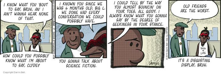Comic Strip Darrin Bell  Candorville 2015-11-17 science