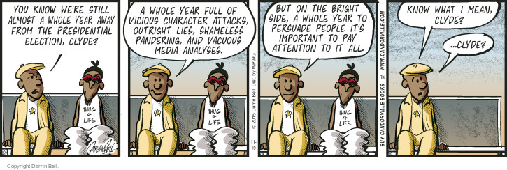 Comic Strip Darrin Bell  Candorville 2015-11-19 apathy