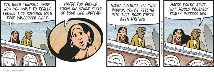 Cartoonist Darrin Bell  Candorville 2015-11-28 channel