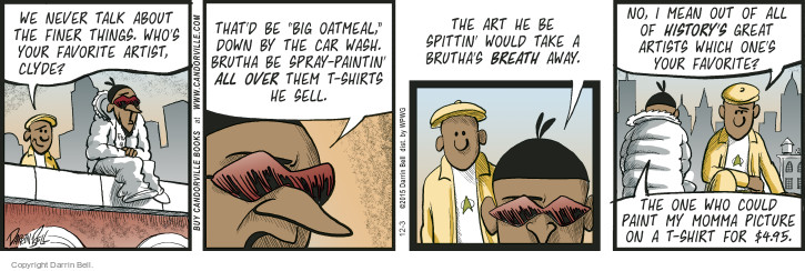 Comic Strip Darrin Bell  Candorville 2015-12-03 culture