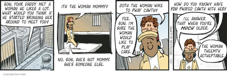 Comic Strip Darrin Bell  Candorville 2015-12-04 date