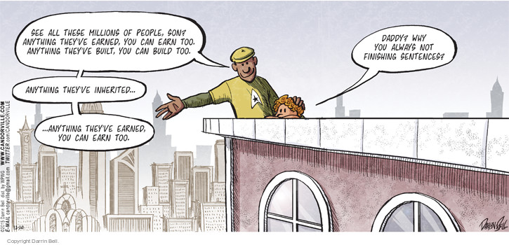 Comic Strip Darrin Bell  Candorville 2015-12-20 dad
