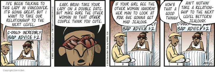 Comic Strip Darrin Bell  Candorville 2015-12-08 good advice