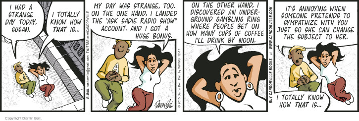 Comic Strip Darrin Bell  Candorville 2015-12-17 other