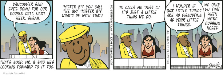 Comic Strip Darrin Bell  Candorville 2015-12-21 love