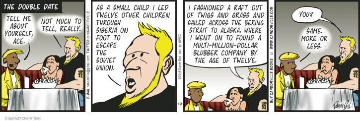Comic Strip Darrin Bell  Candorville 2016-01-28 fashion
