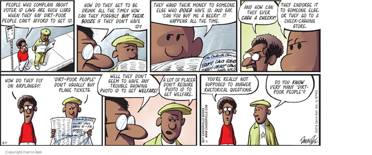 Comic Strip Darrin Bell  Candorville 2016-02-07 afford