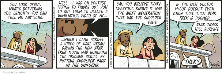 Comic Strip Darrin Bell  Candorville 2016-02-13 YouTube