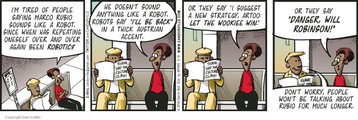 Comic Strip Darrin Bell  Candorville 2016-02-16 movie