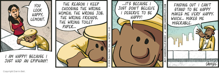 Comic Strip Darrin Bell  Candorville 2016-02-20 belief