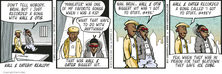 Comic Strip Darrin Bell  Candorville 2016-03-04 music