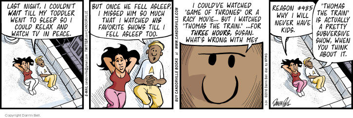 Comic Strip Darrin Bell  Candorville 2016-03-24 movie