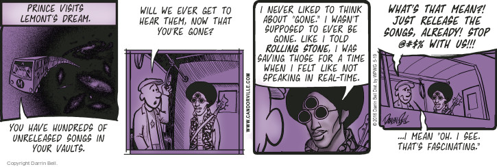 Comic Strip Darrin Bell  Candorville 2016-05-19 ghost