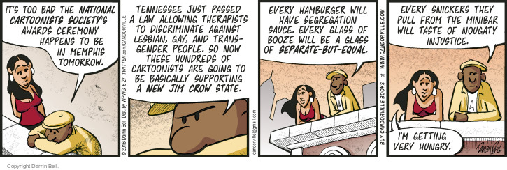 Comic Strip Darrin Bell  Candorville 2016-05-27 hamburger