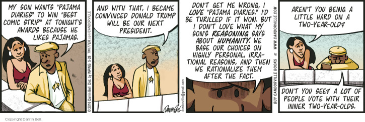 Comic Strip Darrin Bell  Candorville 2016-05-28 love