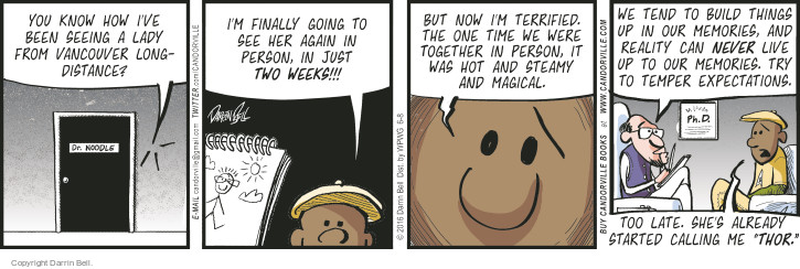 Comic Strip Darrin Bell  Candorville 2016-06-08 build