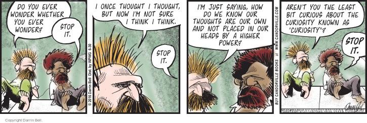 Comic Strip Darrin Bell  Candorville 2016-06-30 aren't