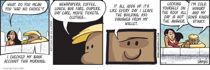 Comic Strip Darrin Bell  Candorville 2016-08-02 movie ticket
