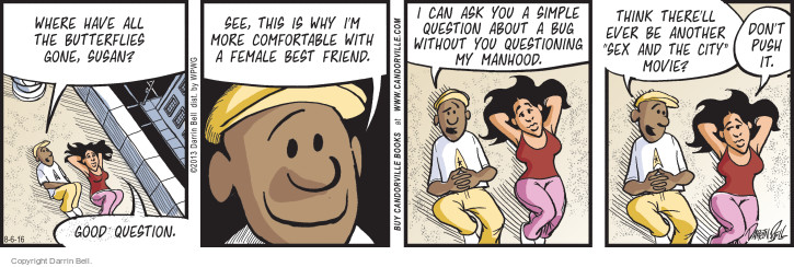 Comic Strip Darrin Bell  Candorville 2016-08-06 simple